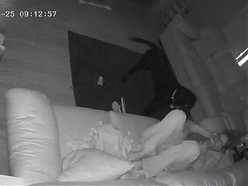 Slutty Babysitter Caught