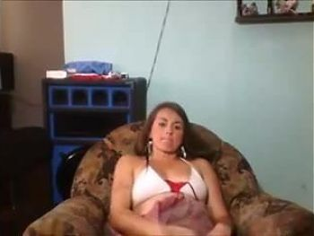 hot big tits chick bates on hacked cam