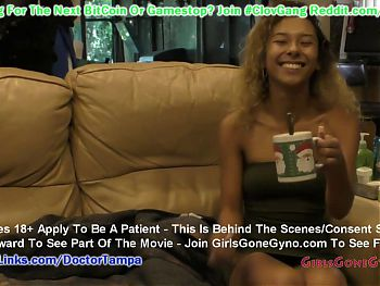$CLOV Kalani Luana Gets FULL Yearly Gyn Exam By Doctor Tampa