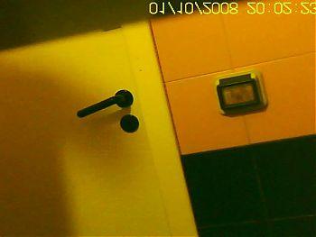 Hidden cafe camera