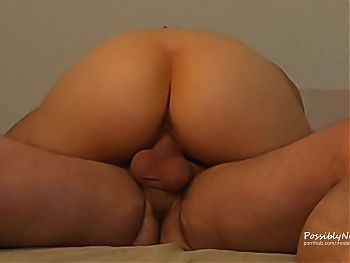 Homemade Sex Tape Cum Dripping out of my Pussy