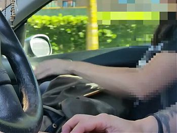married hitchhiker touches my bulge