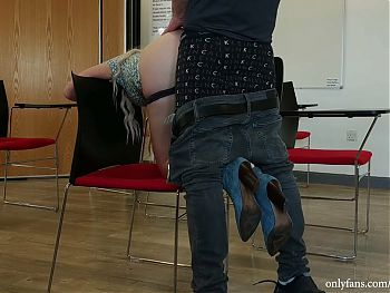 Hidden cam caught a couple who fucks at the University. Anal