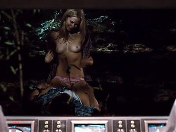 Anna Hutchison - The Cabin in the Woods