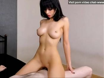 Russian mom with perfect body sensually rides a dick